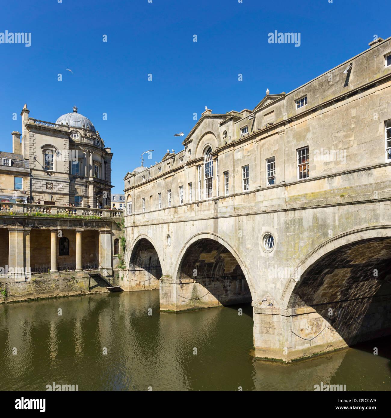 Pulteney Bridge, Bath, England, UK Stockbild