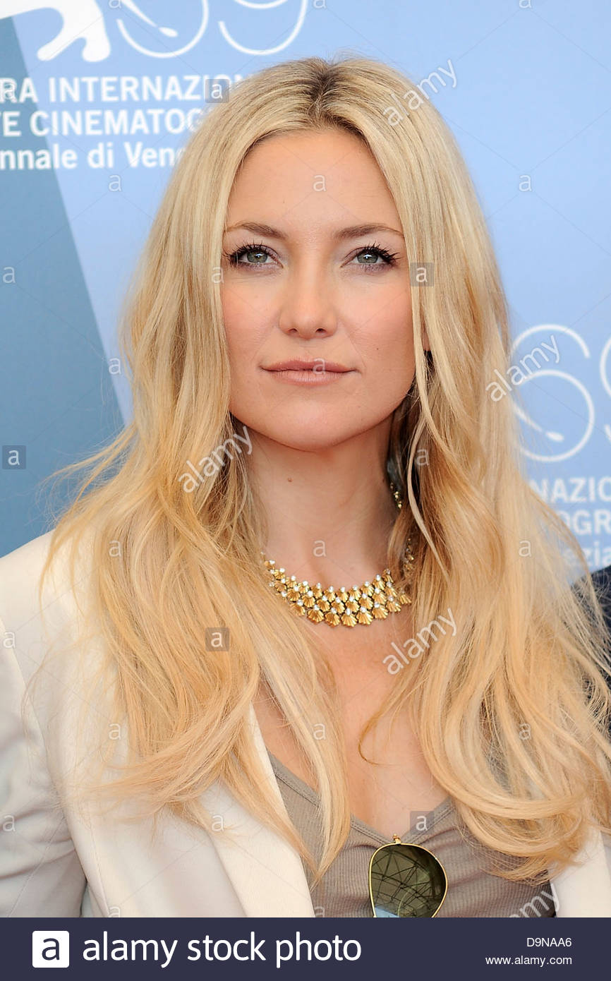 Kate Hudson, 69. internationalen Venedig film Festival Stockbild