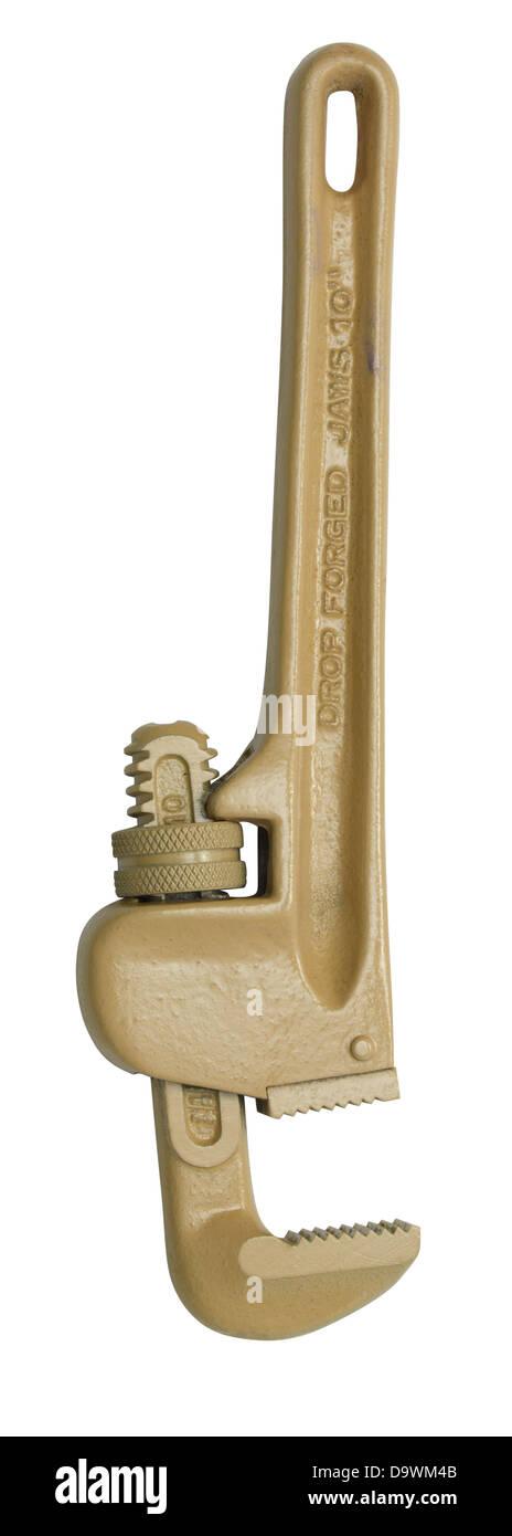 klassische Schraubenschlüssel Stockbild