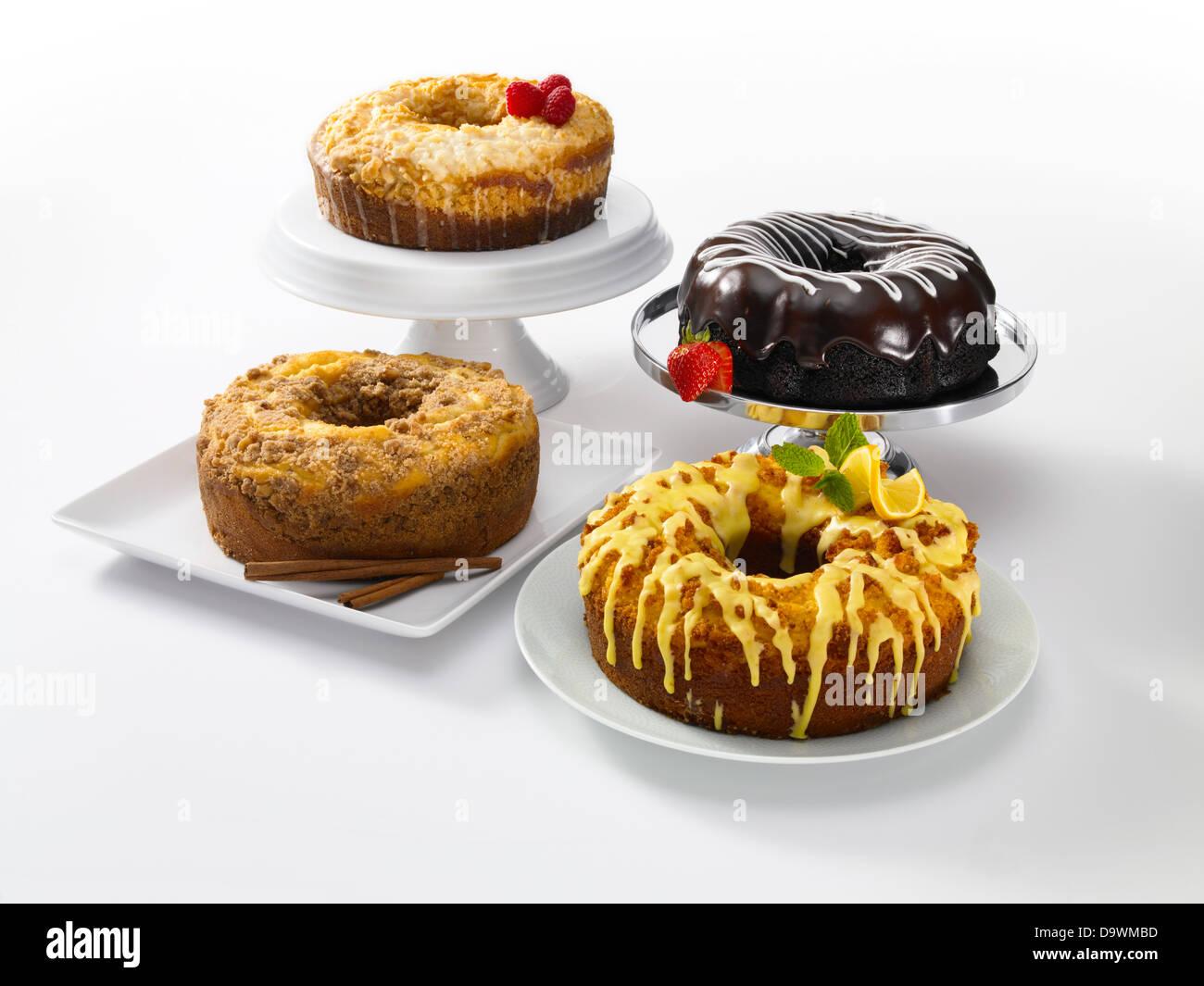 Klassische Kuchen Stockbild