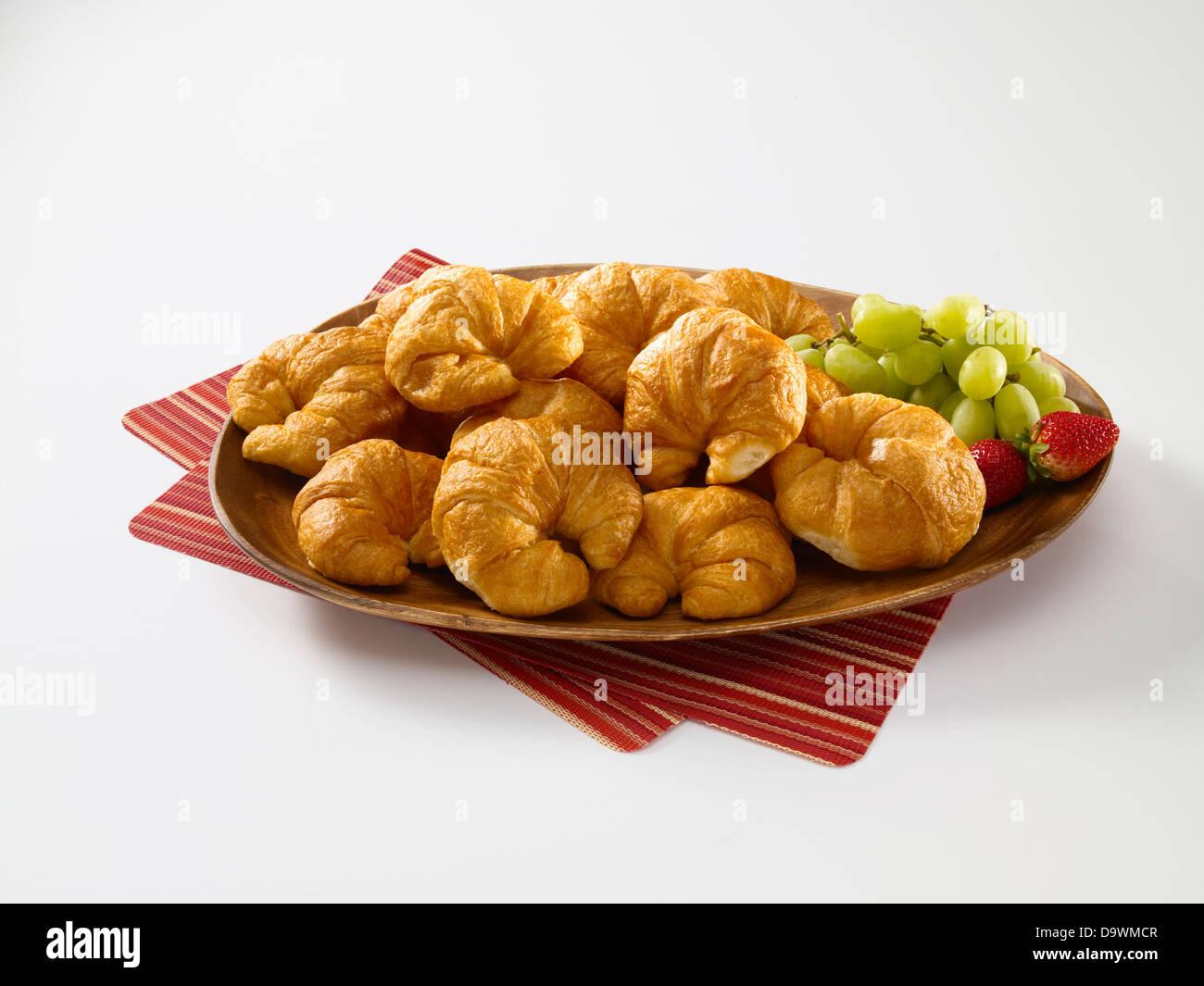 Croissants Stockbild