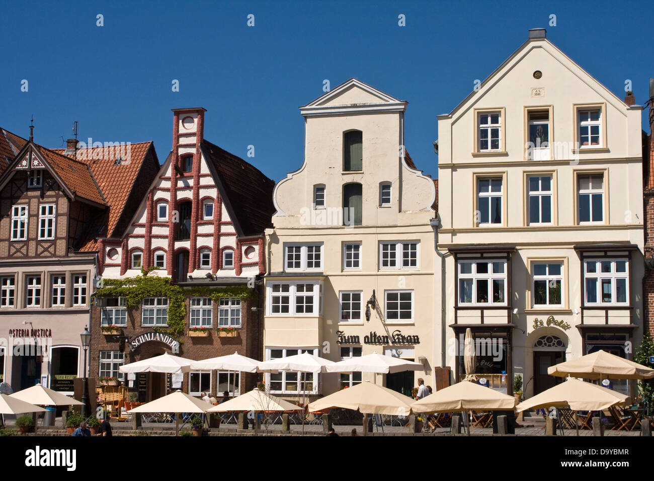 germany lueneburg old town stockfotos germany lueneburg old town bilder seite 2 alamy. Black Bedroom Furniture Sets. Home Design Ideas