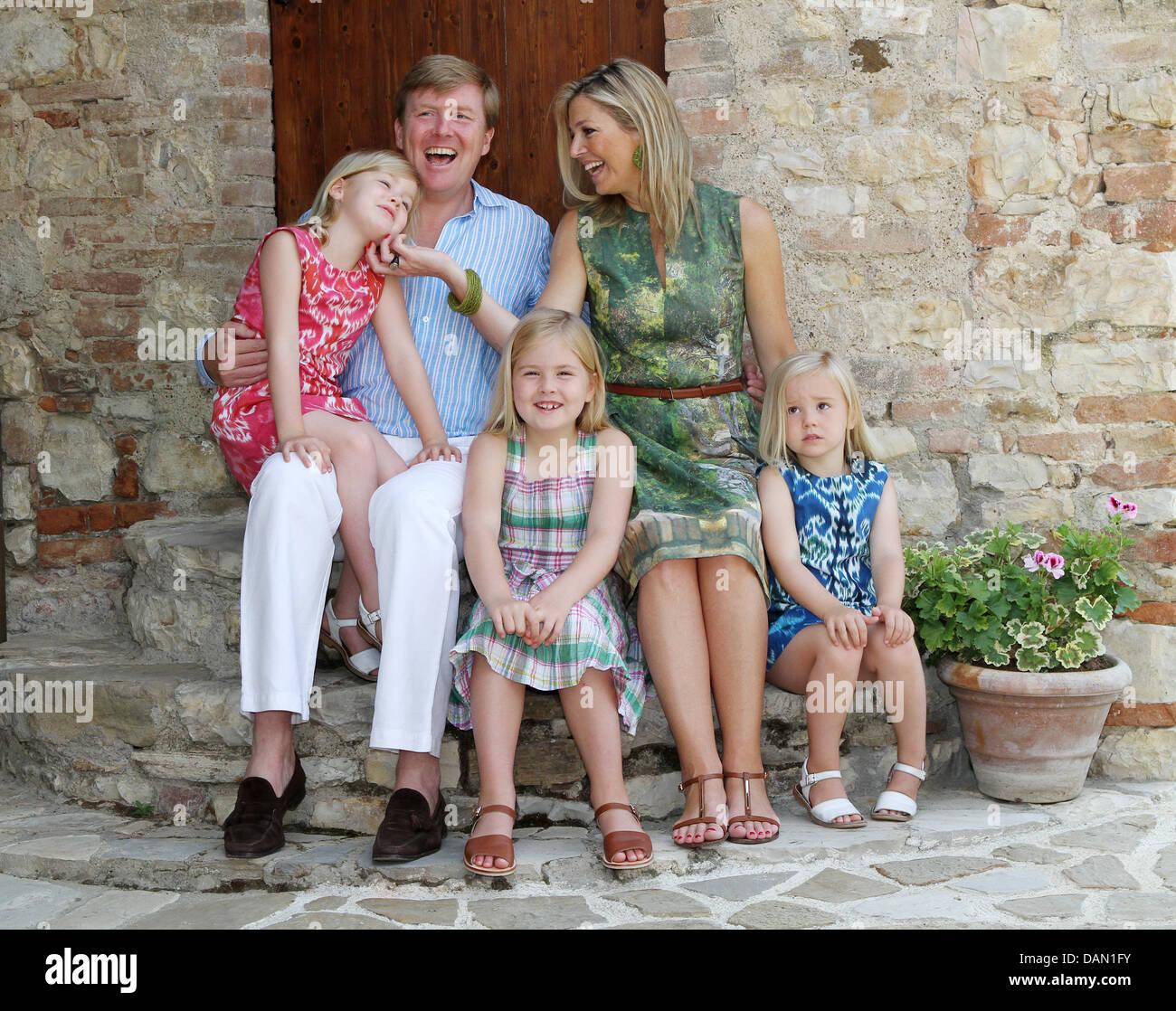 Prinz Willem Alexander Und Prinzessin Maxima Der Niederlande Stellen