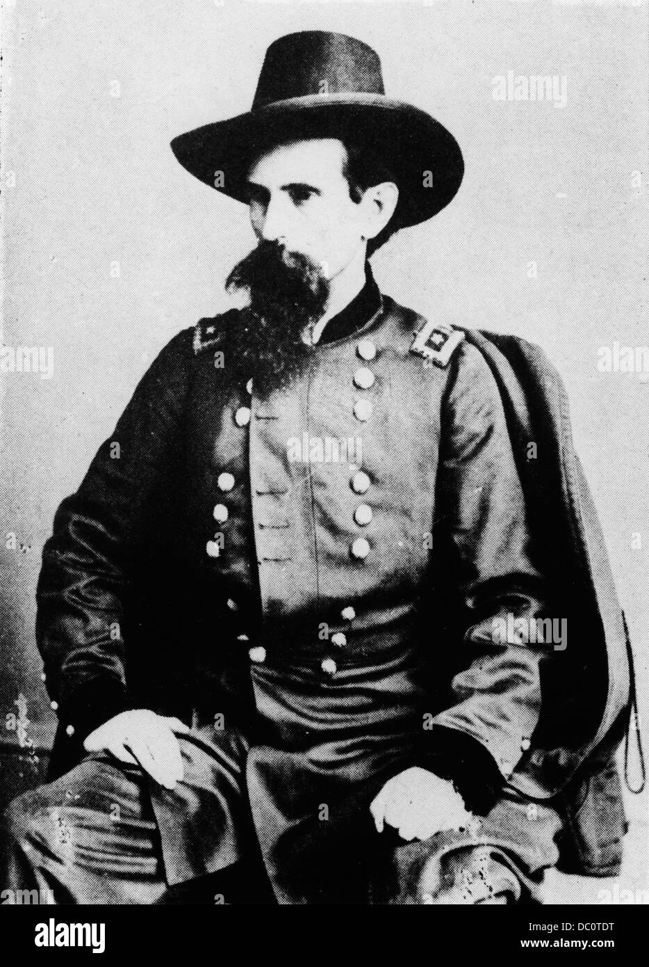 1800S 1860S ALLGEMEINE LEWIS LEW WALLACE VON MATHEW BRADY FOTO CA. 1862 AMERICAN CIVIL WAR AUTOR VON BEN HUR Stockbild