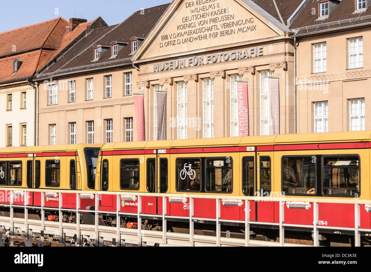 Museum Für Fotografie - Museum für Fotografie - Startseite der Helmut Newton Stiftung - Berlin Deutschland Stockbild