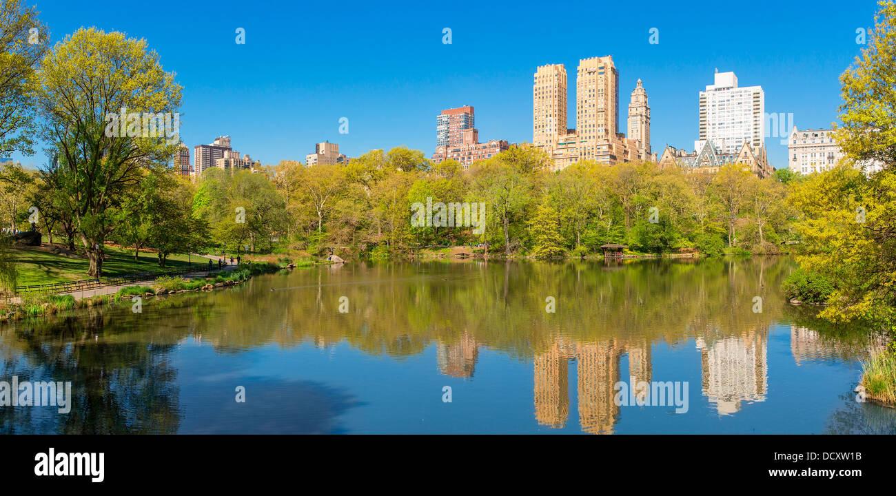 New York City, Central Park Stockbild