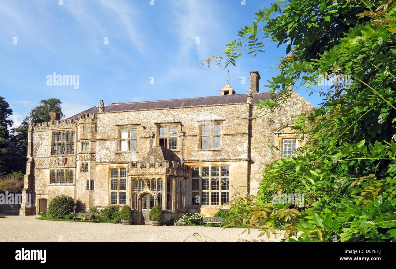 Dieses Stockfoto: Brympton Haus/Brympton d'Evercy, Brympton Haus/Brympton d'Evercy, Südwestengland, GROSSBRITANNIEN, BA22 8TD - DCYEHJ