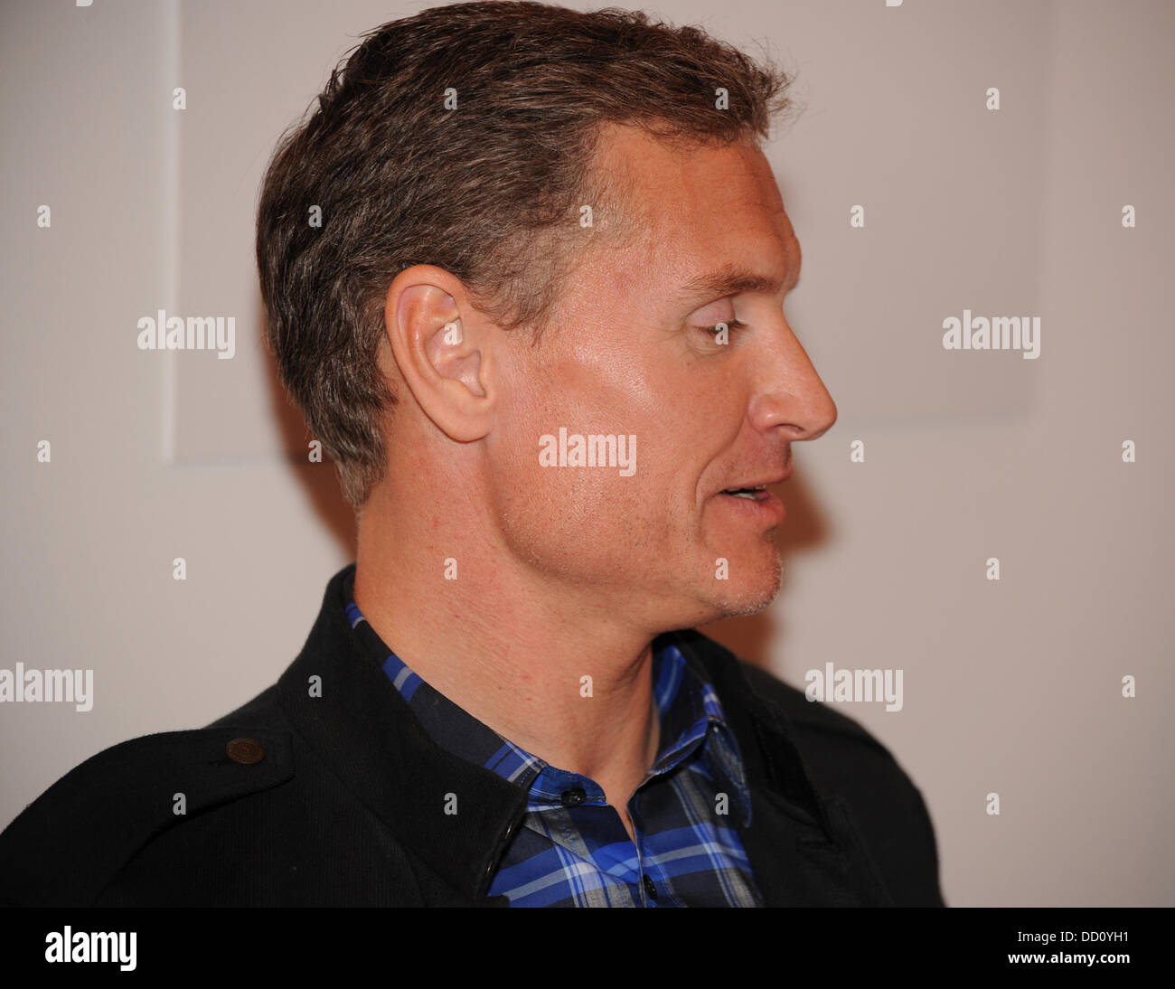 David Coulthard Autosport International Show statt in der NEC Birmingham-Birmingham, England - 15.01.12 Stockbild