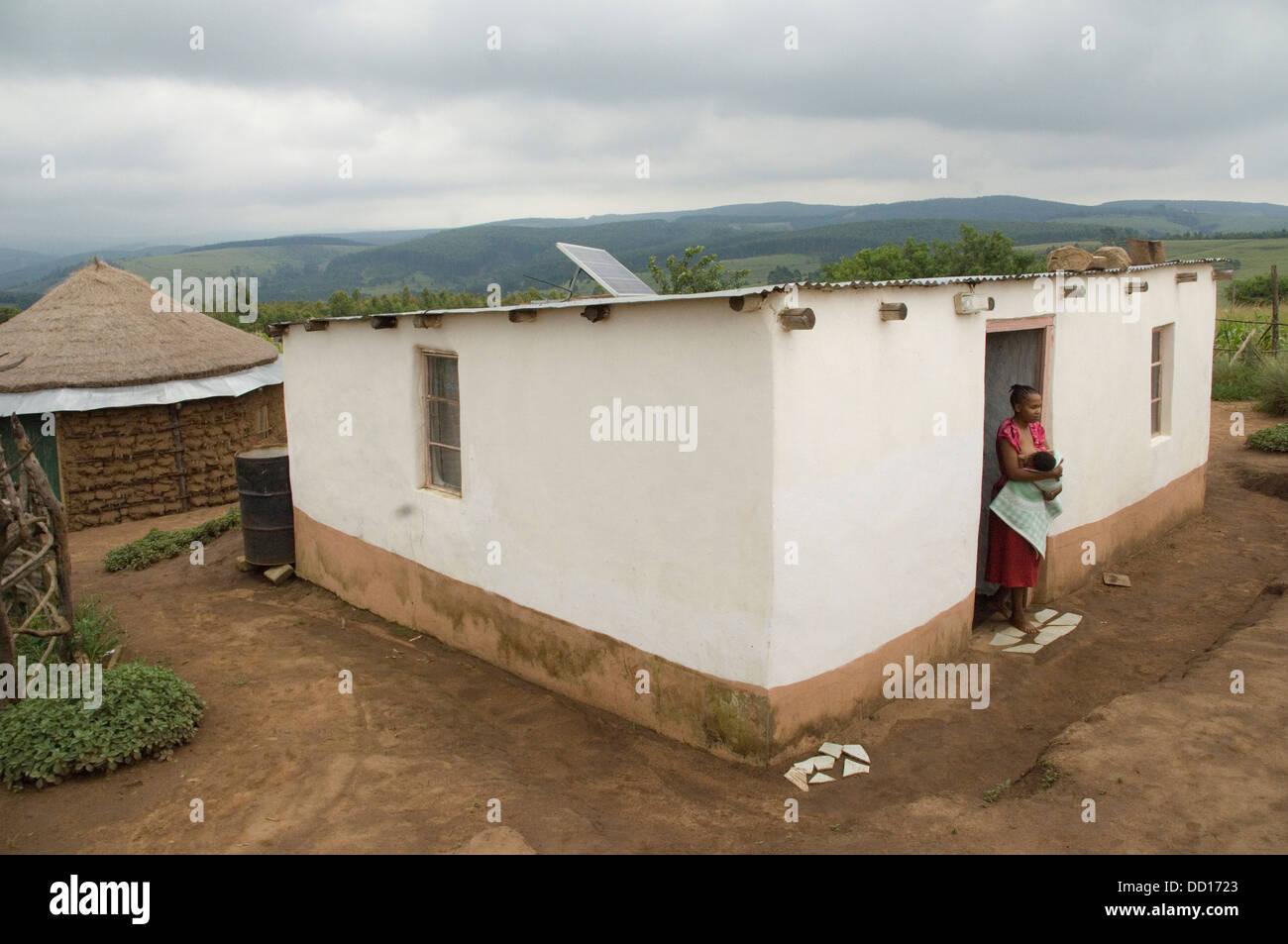 Farbe Bilder Digitall Projekt Alphabetisierung (2007) Februar 2007 Kwazulu Natal MR0051/07 Kwahlongwa Gemeinschaft Stockbild