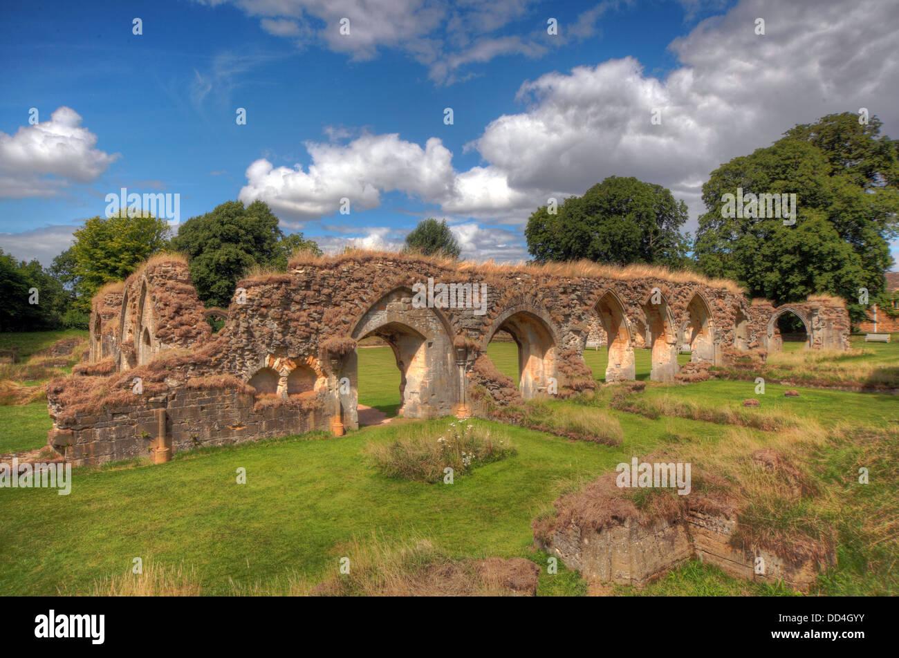 Laden Sie dieses Alamy Stockfoto Hailes Zisterzienserabtei, Cheltenham, Gloucestershire, England, GL54 5PB - DD4GYY