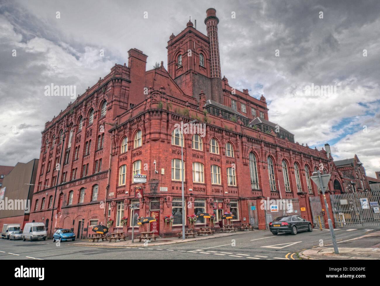 Laden Sie dieses Alamy Stockfoto Die alte Higson Brauerei, Liverpool - DDD6PE
