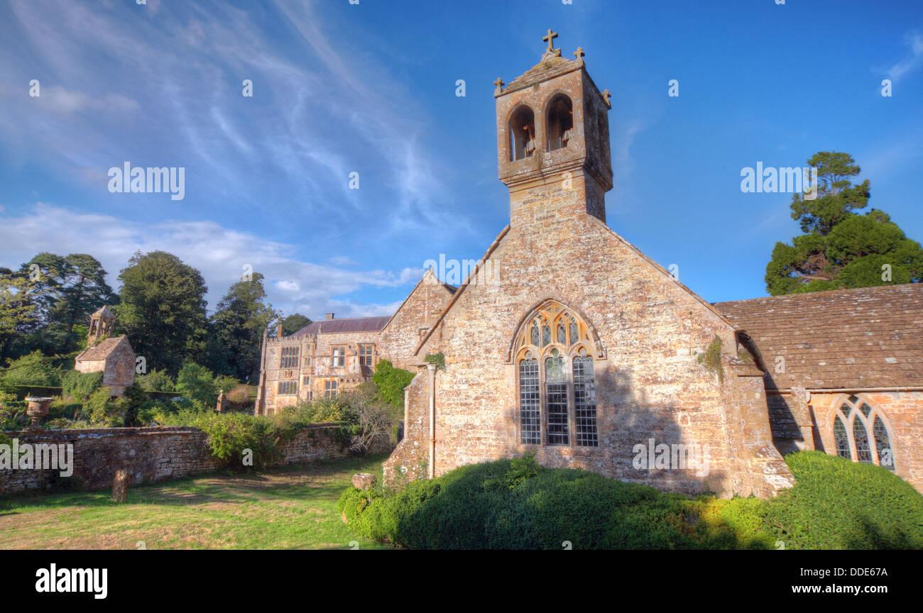 Laden Sie dieses Alamy Stockfoto St Andrews Kirche, Brympton D'Evercy, Odcombe, in der Nähe von Yeovil, Somerset, South West England, - DDE67A