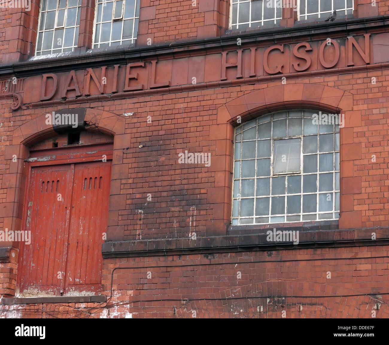 Laden Sie dieses Alamy Stockfoto Die alte Higson Brauerei, Liverpool - DDE67F