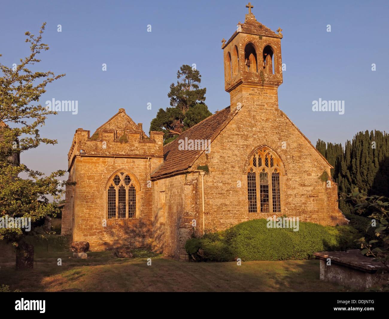 Laden Sie dieses Alamy Stockfoto Kapelle am Brympton d'Evercy, Yeovil, Somerset, England, Großbritannien - DDJNTG