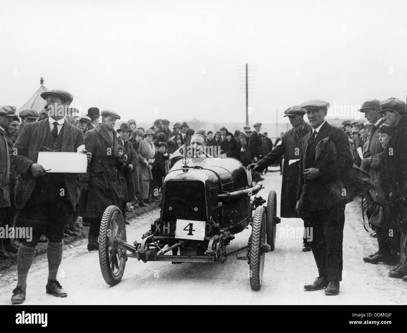 Aston Martin bei einem Motorsport-Event, 1922. Stockbild