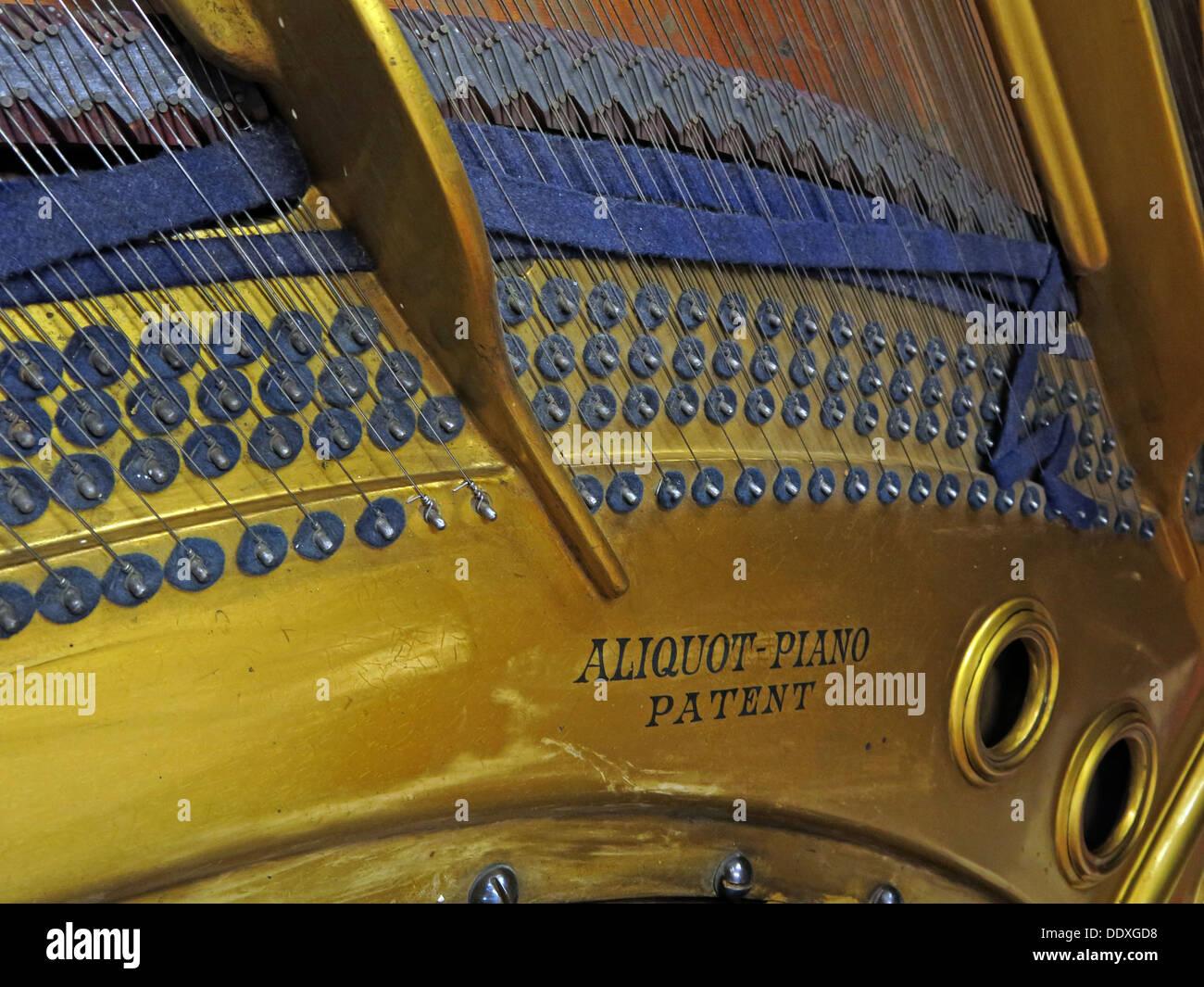 Laden Sie dieses Alamy Stockfoto Bluthner Piano detail37400, Schlüssel, Mechanismus, Leipzig, Deutschland - DDXGD8