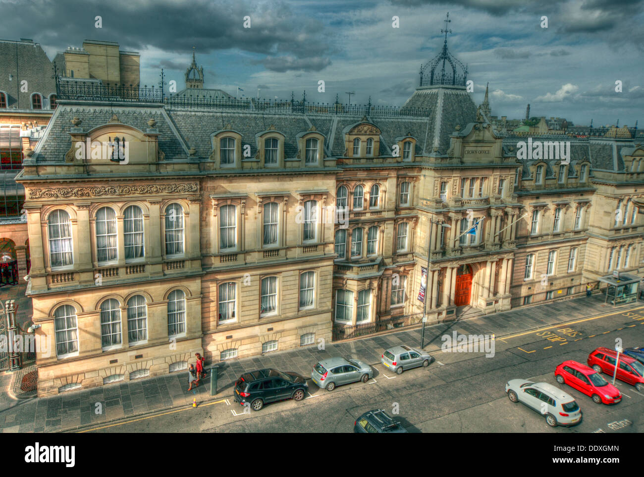 Laden Sie dieses Alamy Stockfoto Edinburgh Crown Office, Chambers Street, Edinburgh, Schottland, UK, EH1 1LA - DDXGMN