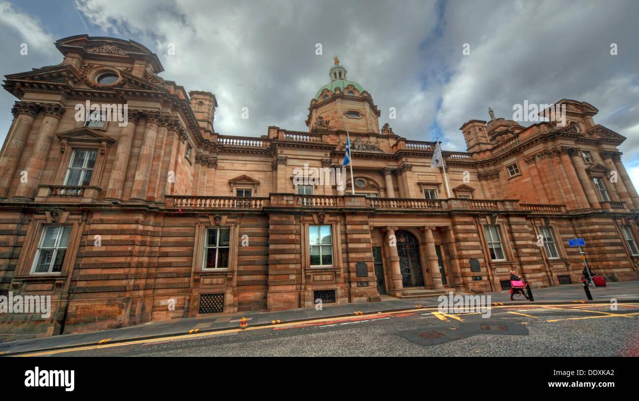 Laden Sie dieses Alamy Stockfoto Bank von Schottland office Headquarter, den Damm, Edinburgh, Schottland, Großbritannien - DDXKA2