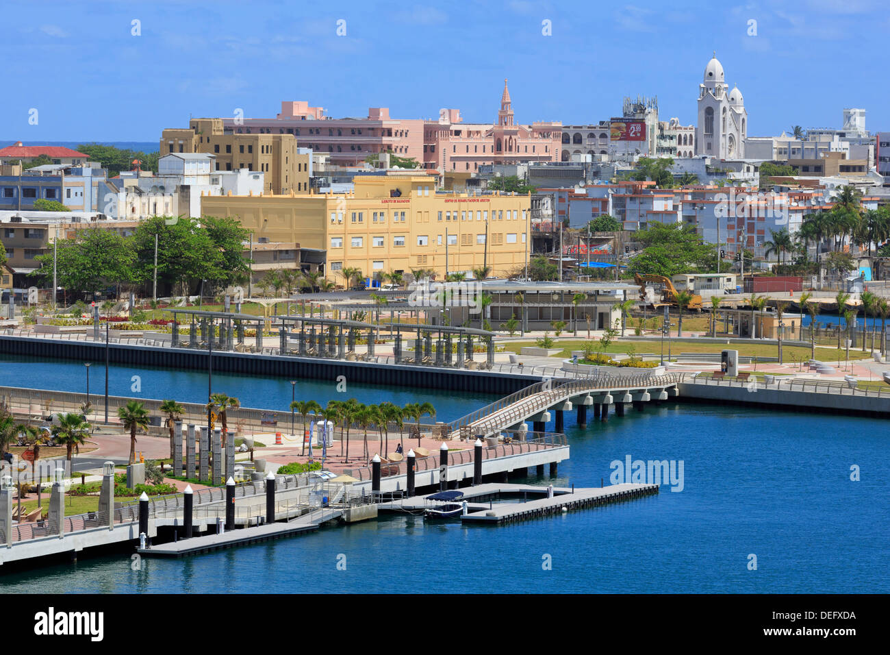 Bahia Urbana in San Juan, Puerto Rico, West Indies, Karibik, Mittelamerika Stockbild