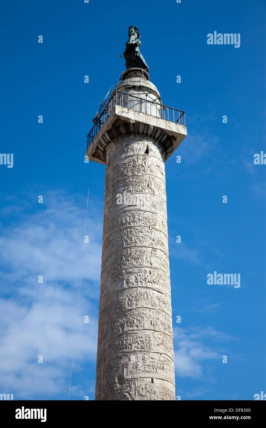 Trajan-Forum, Rom, Italien. Stockbild