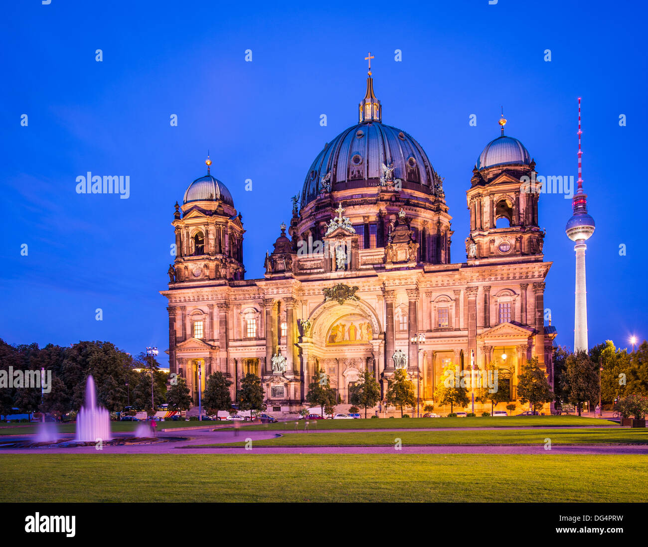 Berliner Dom in Berlin, Deutschland. Die Kirche Bildung reicht zurück bis 1451. Stockbild