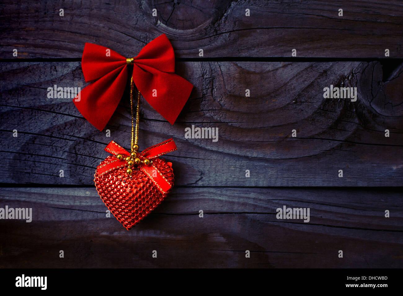Silvester oder Weihnachten Hintergrund Stockbild