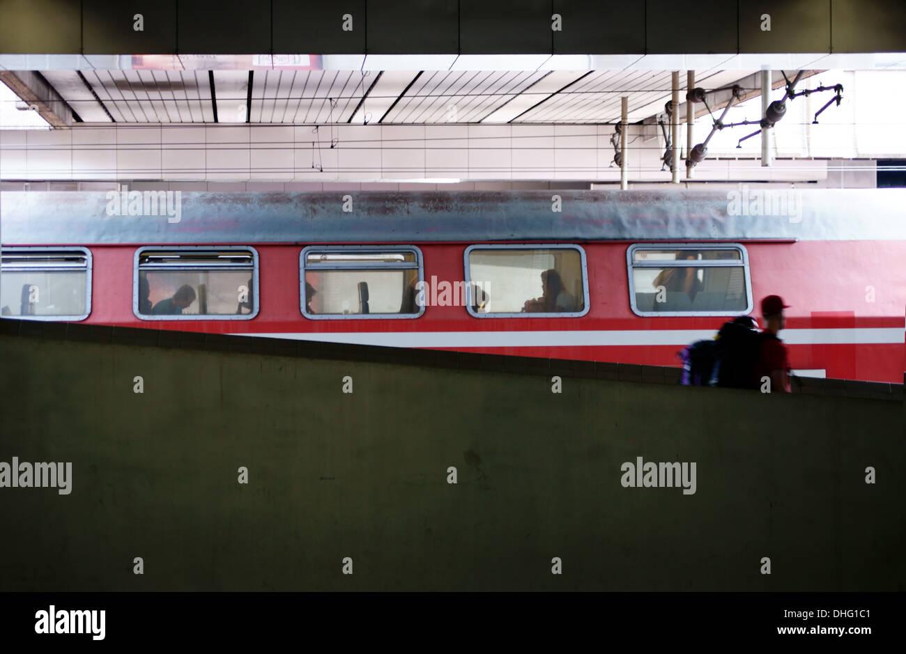 Bahnhof Kassel Stockbild