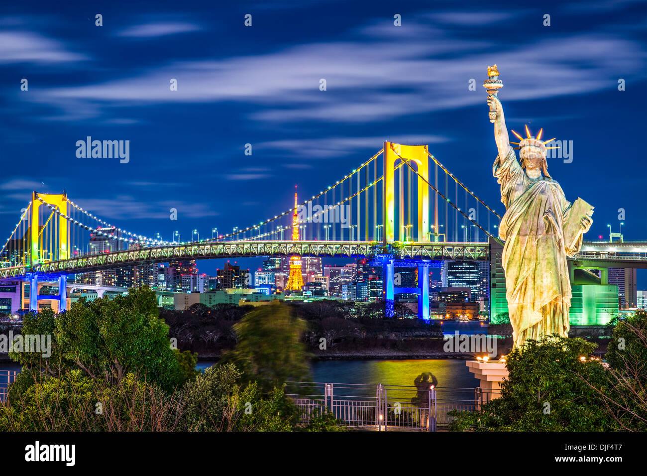 Wahrzeichen von Tokio, Japan. Stockbild