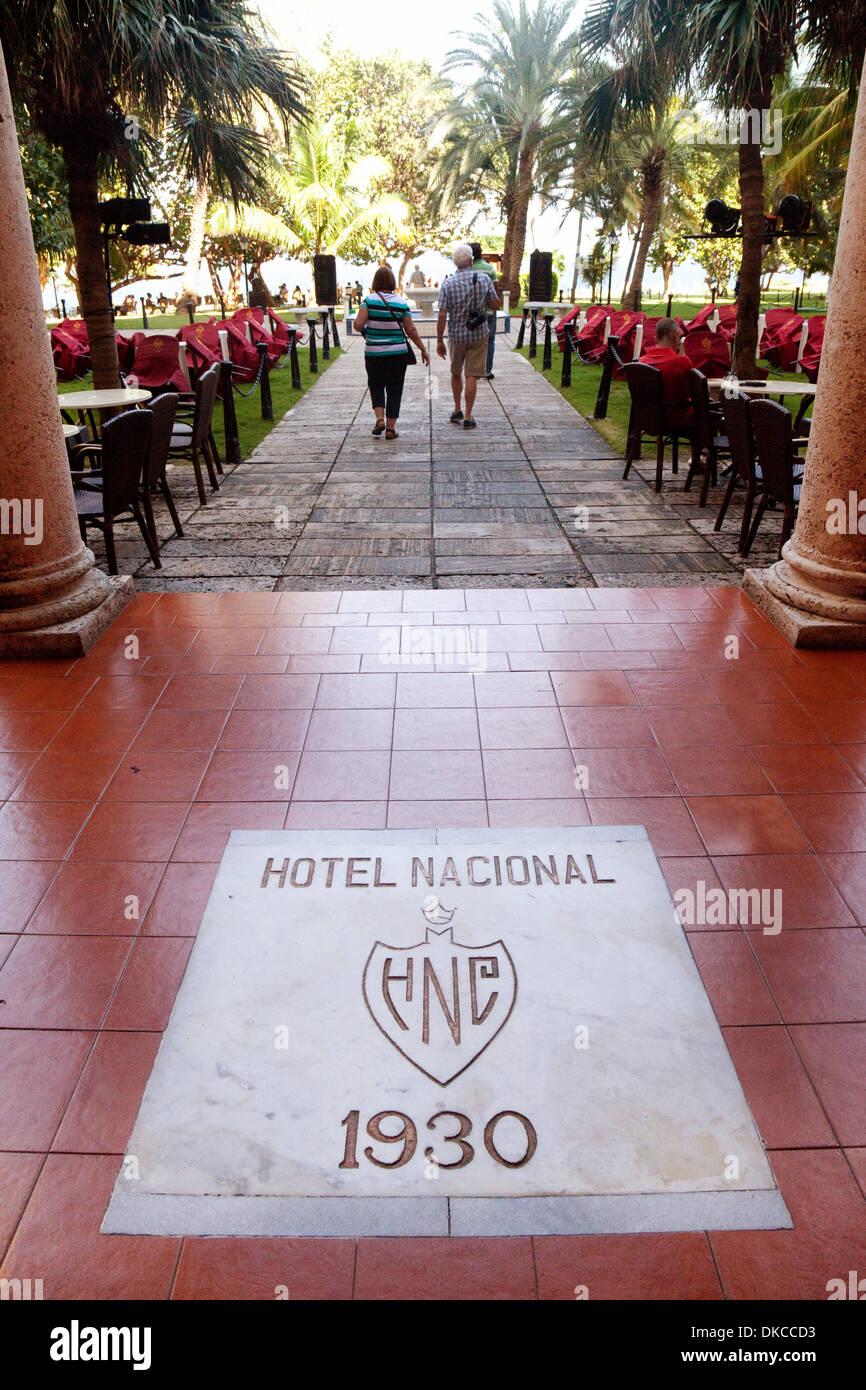 Hotel Nacional, eines kubanischen Luxushotels in Havanna, Kuba, Karibik Stockbild
