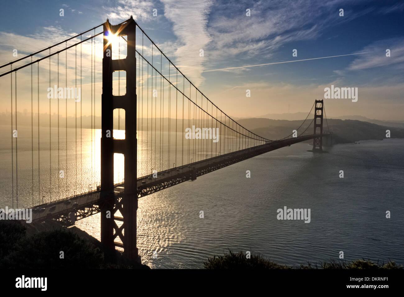 Golden Gate Bridge, San Francisco, Kalifornien, USA Stockbild