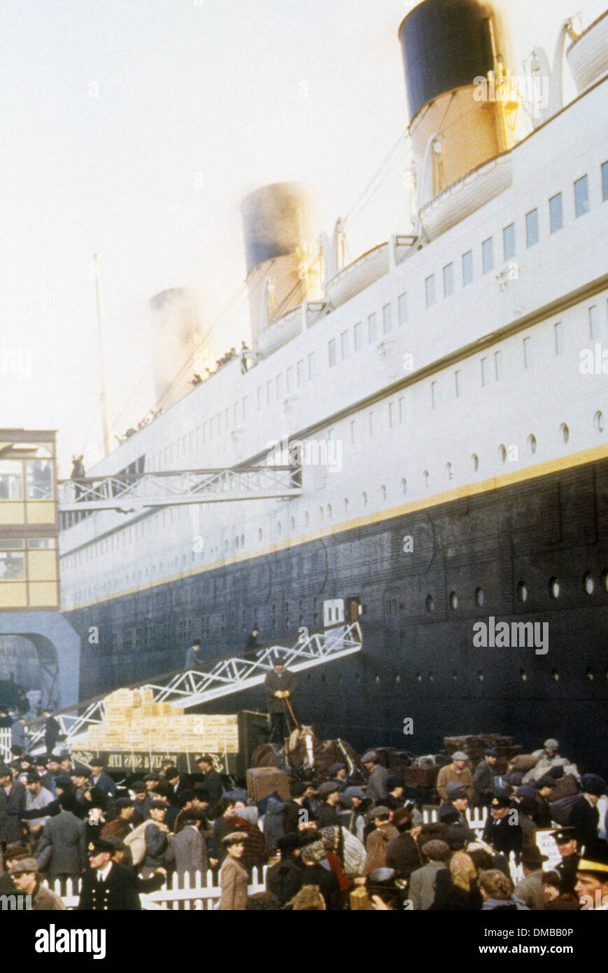 TITANIC 1997 Twentieth Century Fox film Stockbild