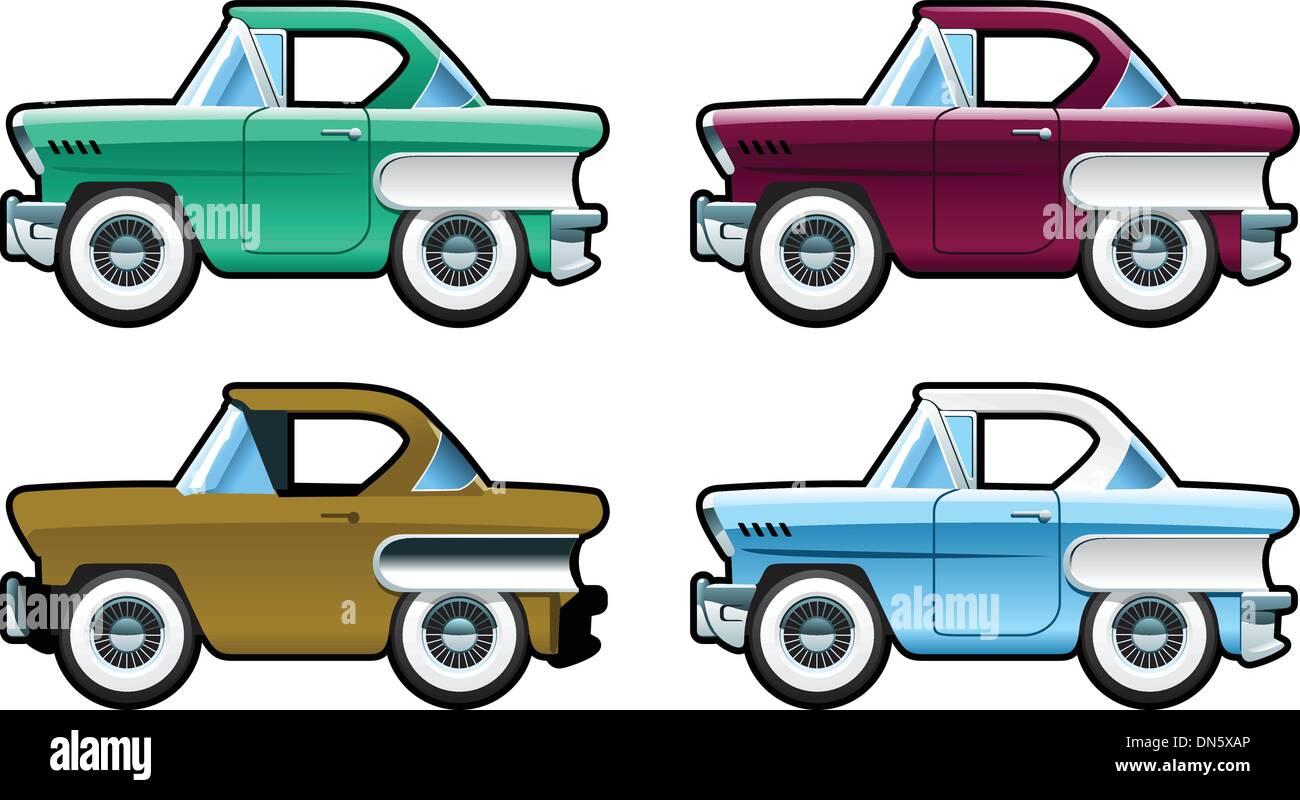 Oldtimer - 60er Jahre Stockbild