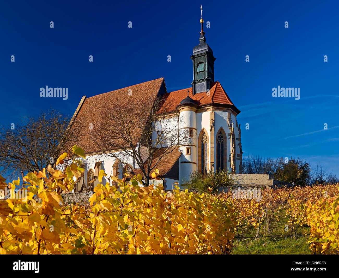 Kirche Maria Im Weingarten, Volkach am Main, untere Franken, Bayern, Deutschland Stockbild