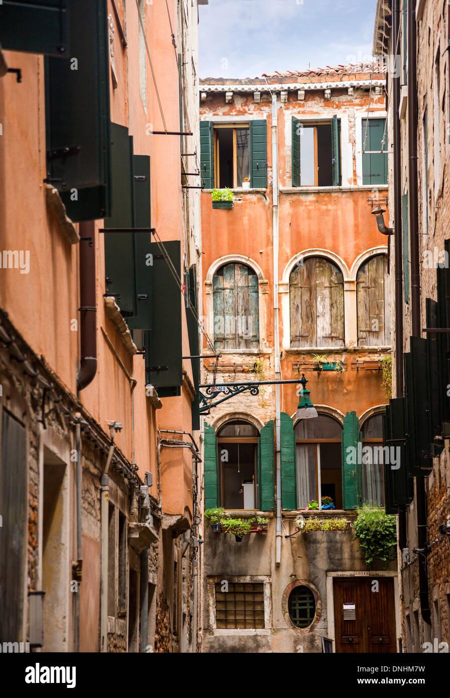 Altbauten, Venedig, Veneto, Italien Stockbild