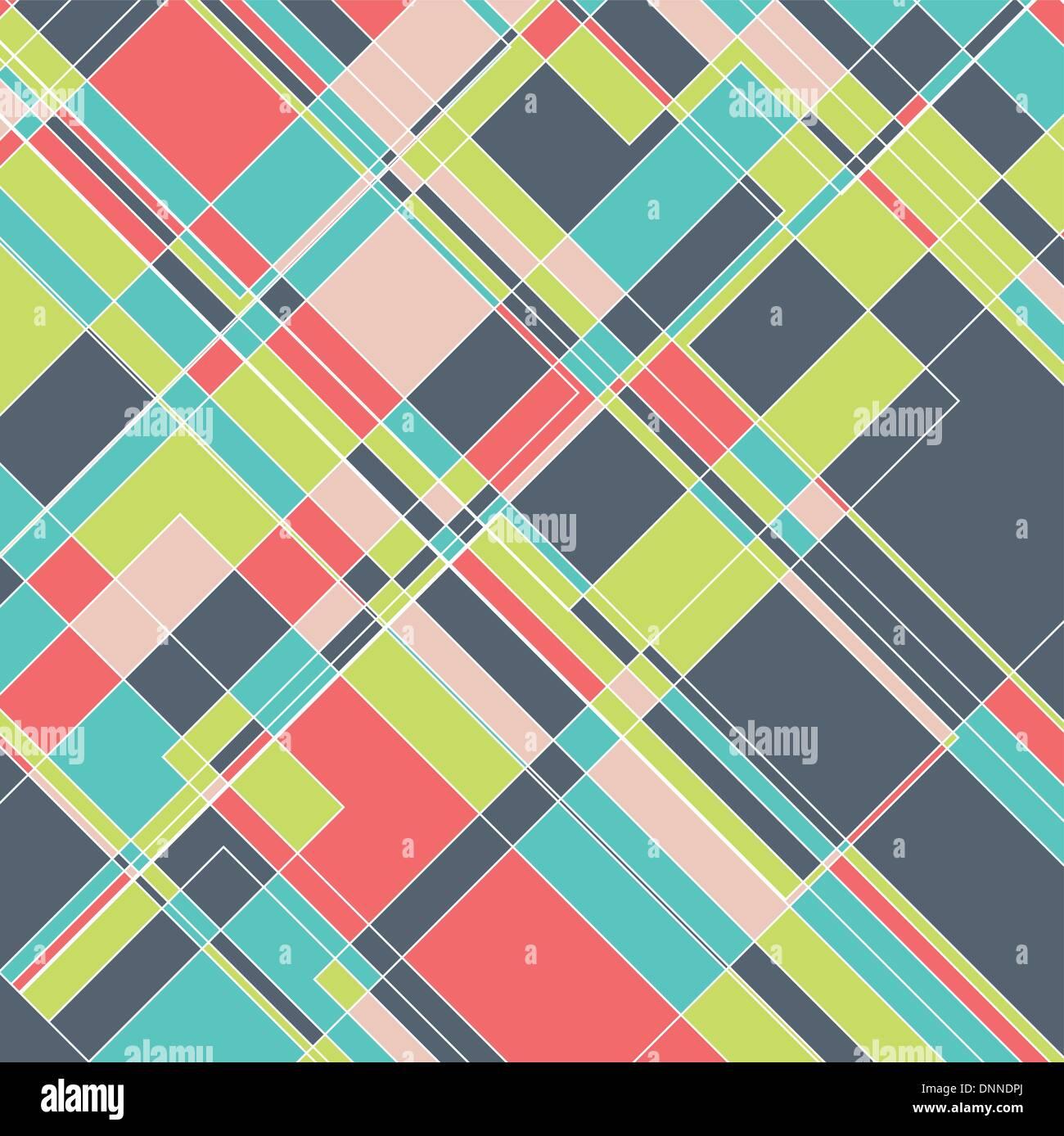 Abstrakt Design-Hintergrund mit einem geometrischen Muster Stock Vektor