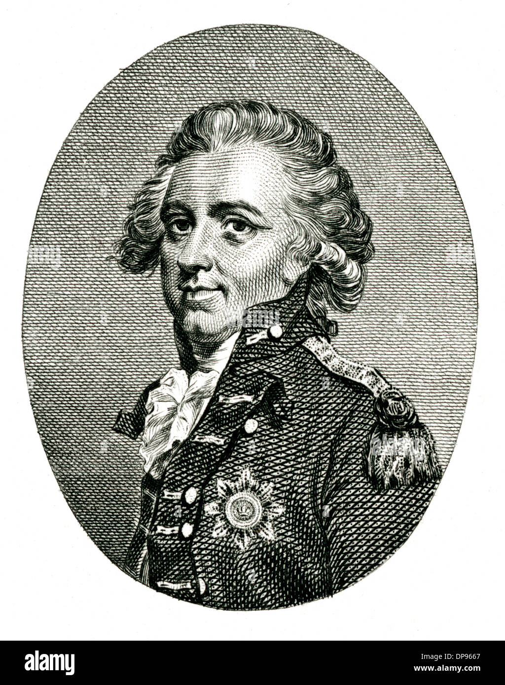 SIR HENRY CLINTON Stockbild