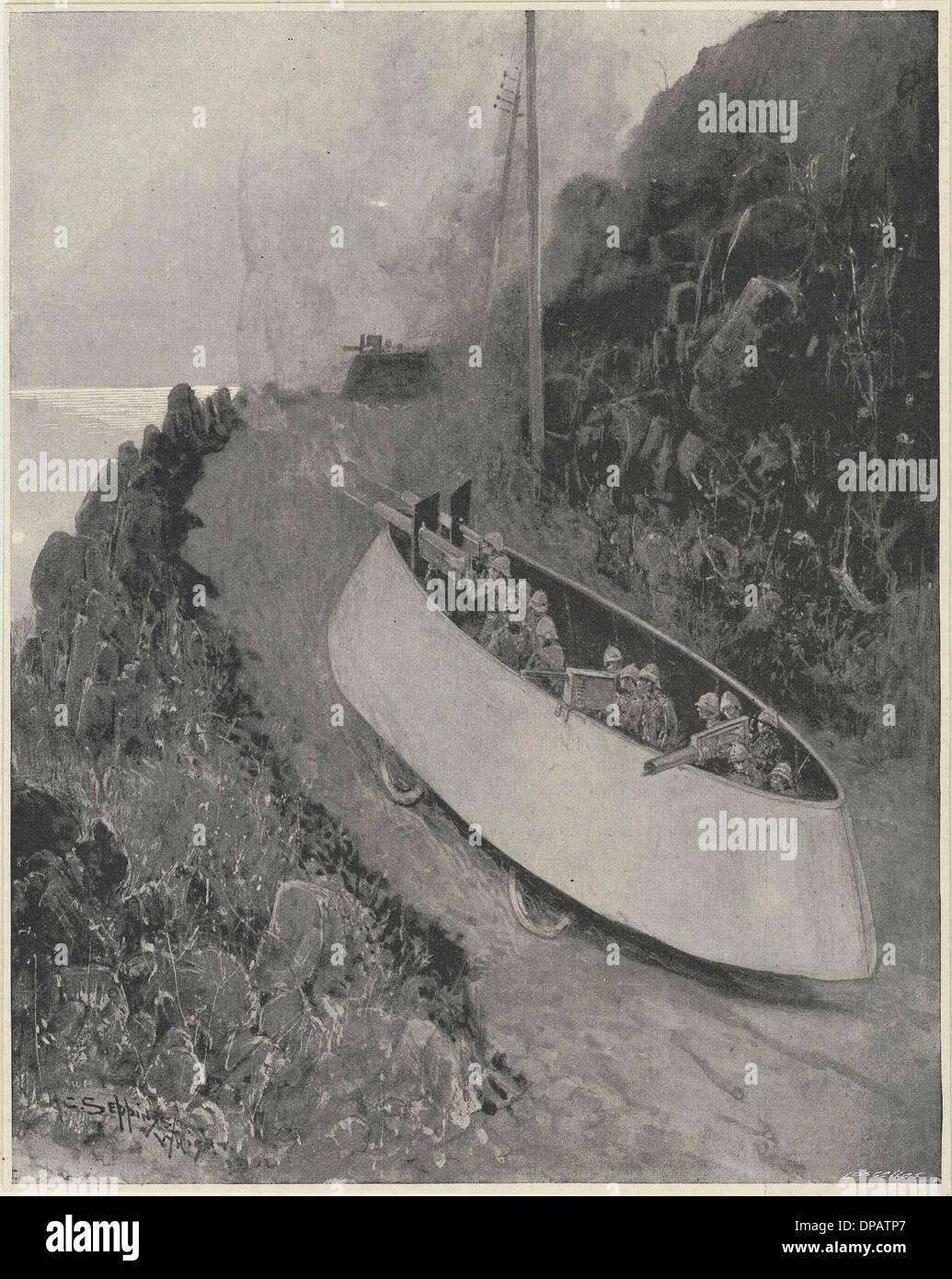 SIMMS KRIEG MOTOR 1902 Stockbild