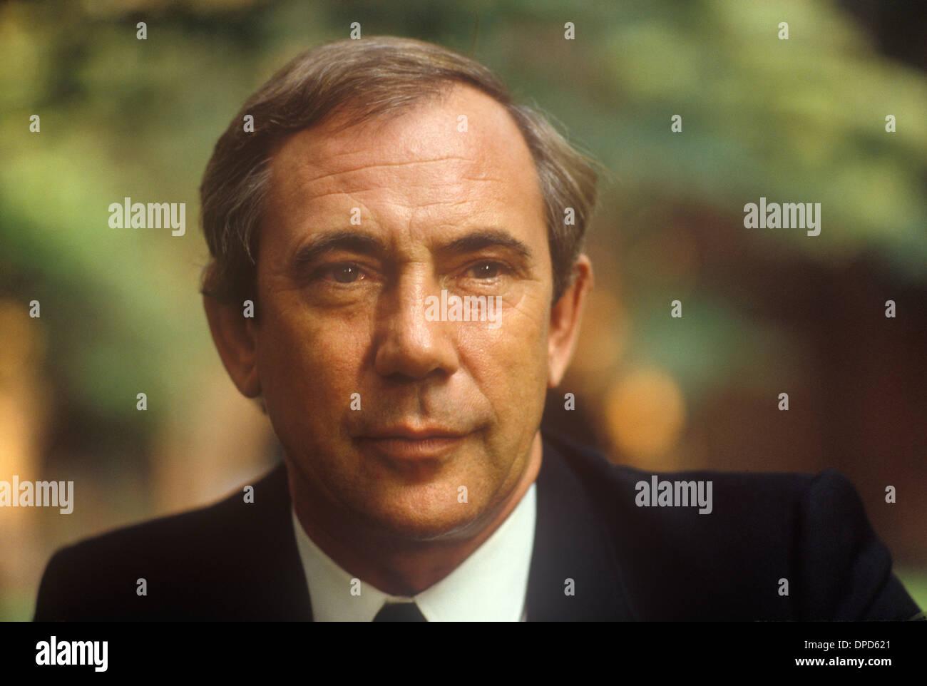 Patrick Walker Astrologen der 1980er Jahre 80er Jahre HOMER SYKES Stockbild