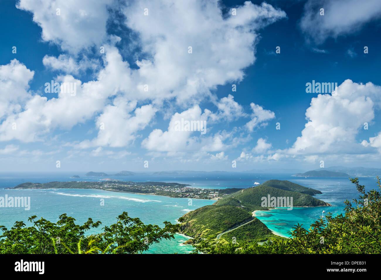 Virgin Gorda in den British Virgin Islands of the Carribean. Stockbild