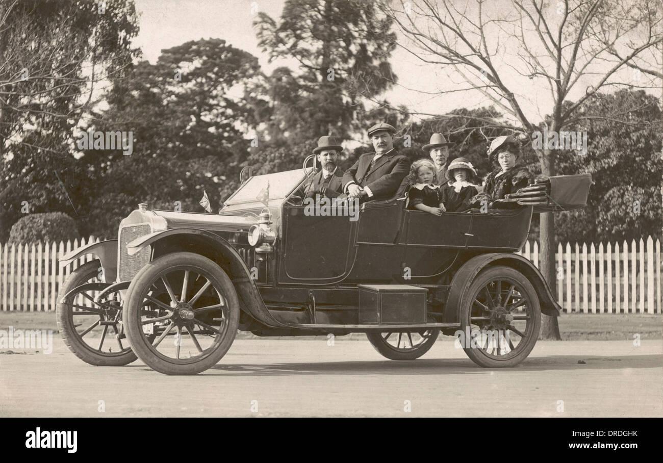 1914-Motorwagen Stockbild