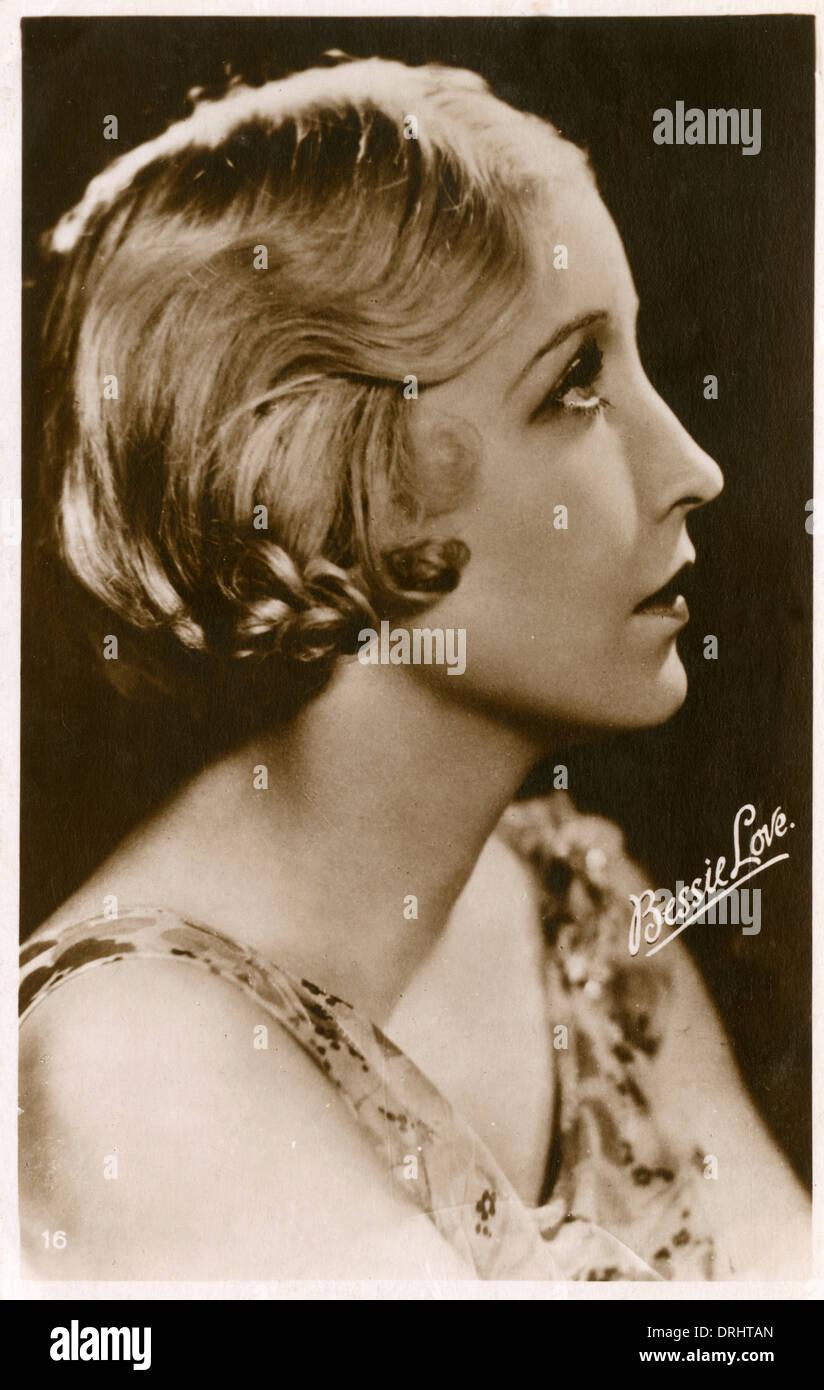 Texaner Filmstar Bessie Love Stockbild