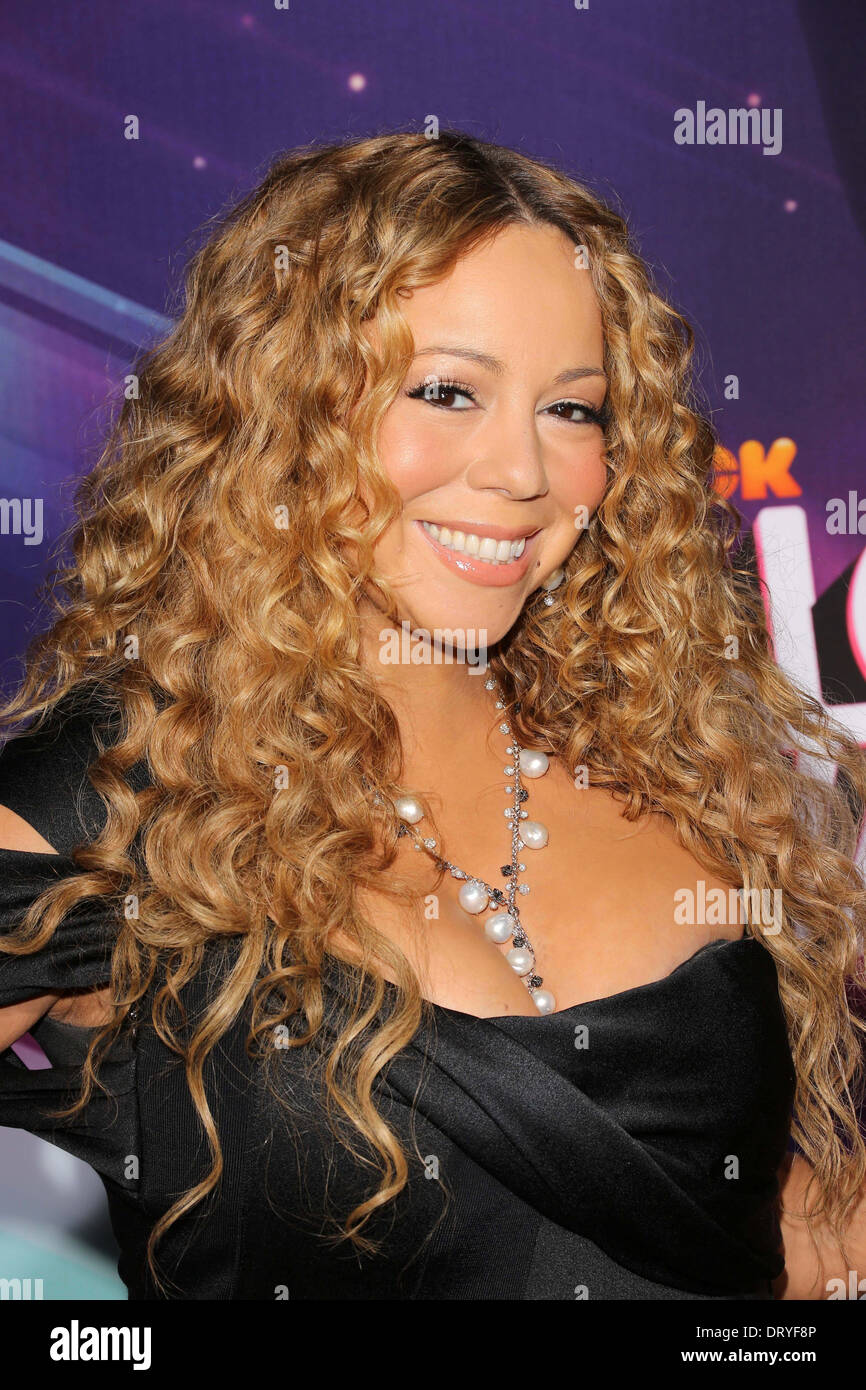 Mariah Carey im 2012 TeenNick HALO Awards, Hollywood Palladium, Hollywood, CA 17.11.12 Stockbild