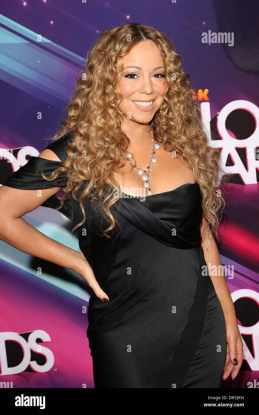 Mariah Carey im 2012 TeenNick HALO Awards, Hollywood Palladium, Hollywood, CA 17.11.12 Stockbild
