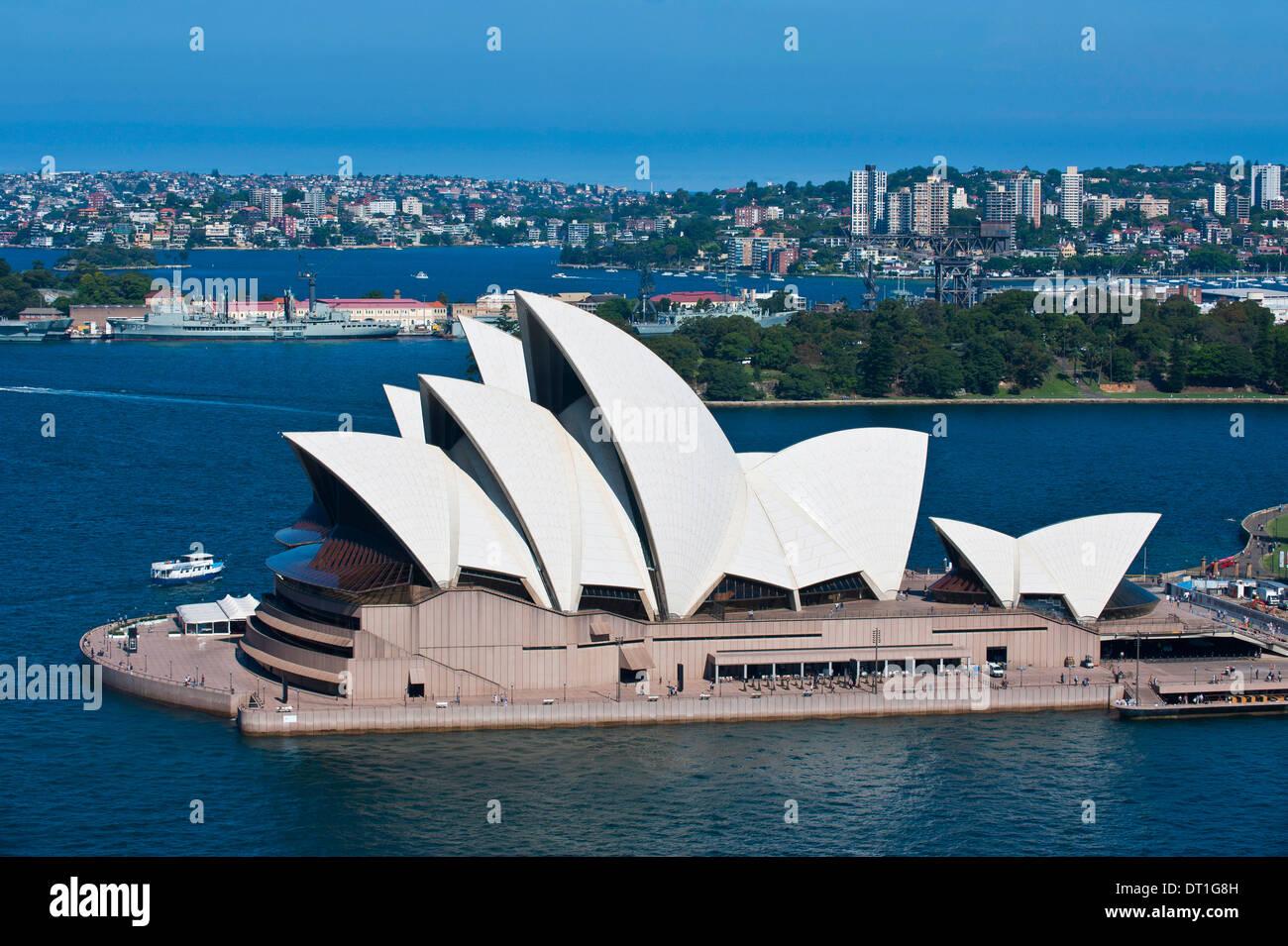 Berühmtes Opernhaus, UNESCO-Weltkulturerbe, Sydney, New South Wales, Australien, Pazifik Stockbild