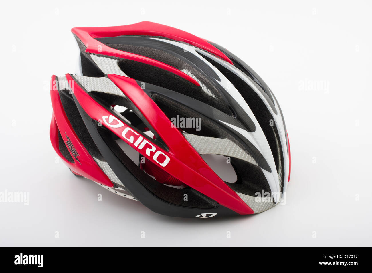 Giro Ionos leichte Strassenrennen Radsport / Triathlon-Helm Stockbild