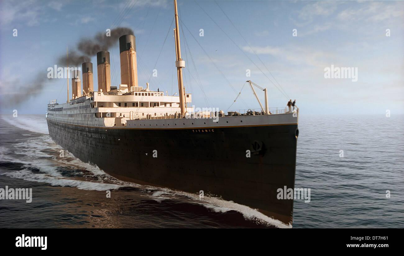 TITANIC SCHIFF TITANIC (1997) Stockbild