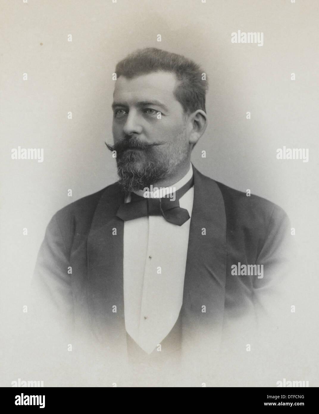 Ludwig von Graff (1851-1924) Stockbild
