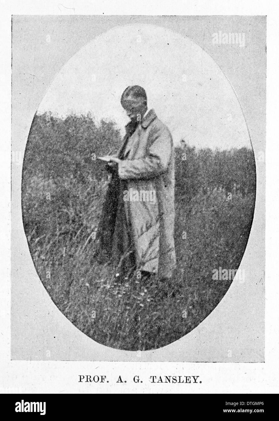 Professor Sir Arthur Tansley (1871-1955) Stockbild