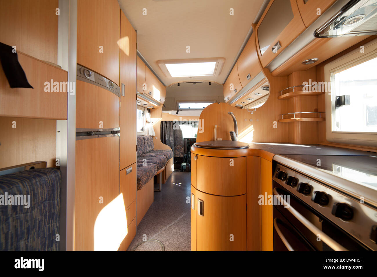 Caravan Interior Stockfotos Caravan Interior Bilder Alamy