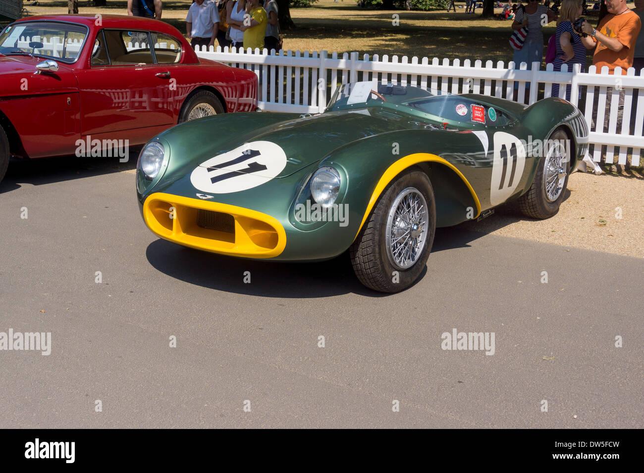 Aston Martin DB3S (1953 ? 1956), Aston Martin Timeline, hundertjährigen Feier 2013 100 Jahre Aston Martin, Stockbild